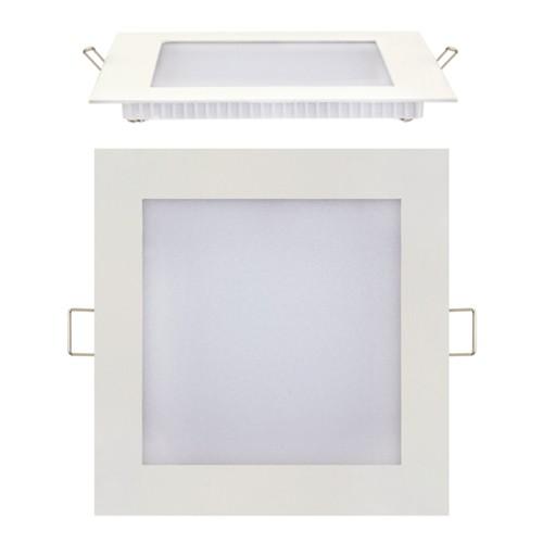 LED Panel Ultraslim weiss eckig 9W