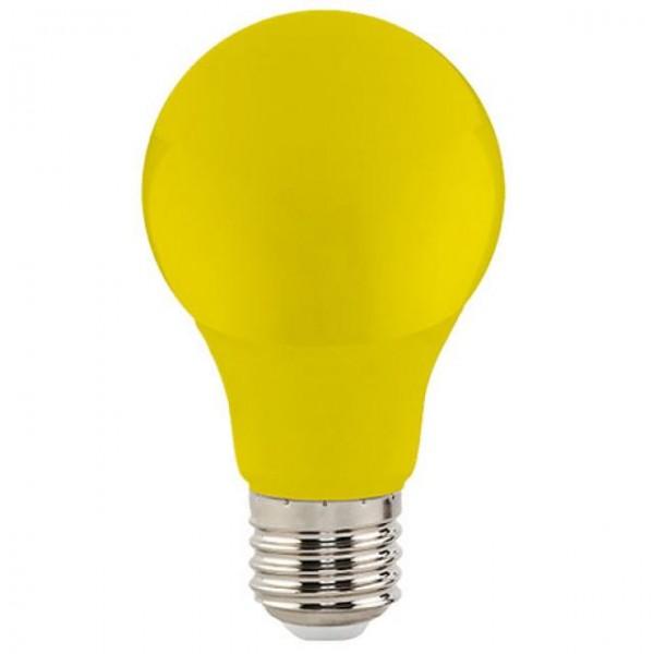 3W LED-Leuchtmittel Glühlampenform E27 gelb 315lm A60