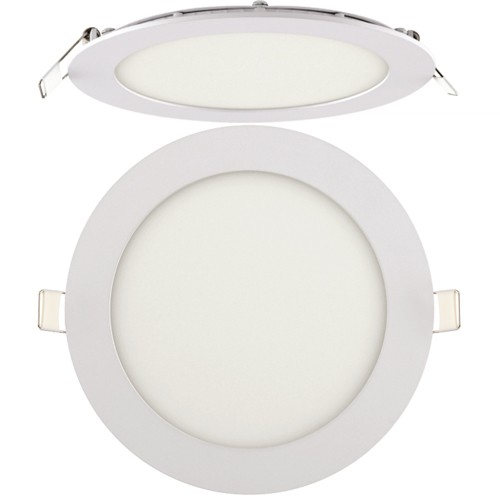 LED Panel Ultraslim weiss rund 12W
