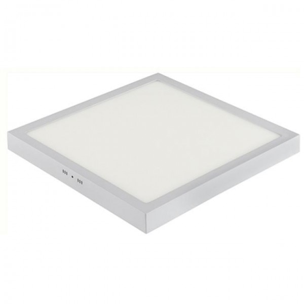 LED Aufputz Panel 48W eckig weiss kaltweiss 6400K
