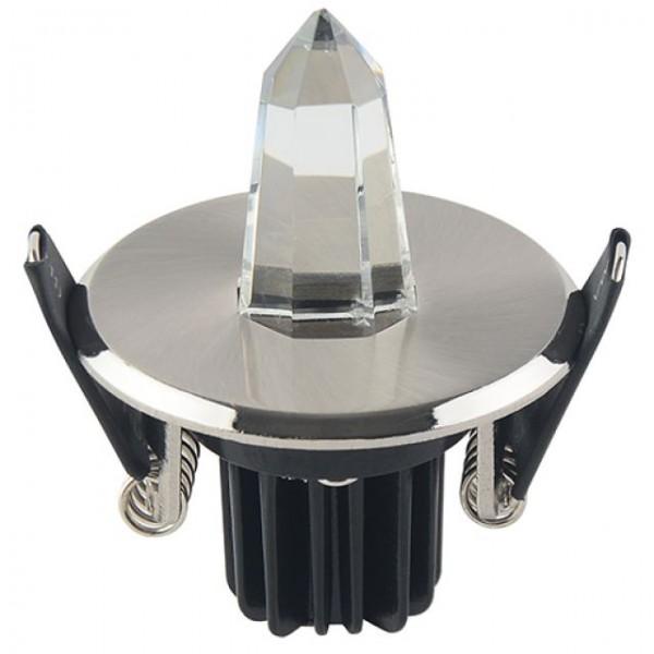 LED Mini Einbaustrahler Minispot Sternenhimmel rund 1W weiss 6400K