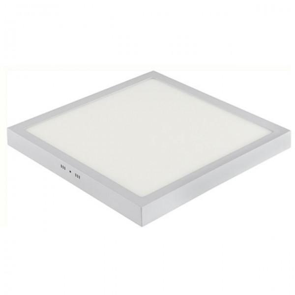 LED Aufputz Panel 32W eckig weiss warmweiss 3000K