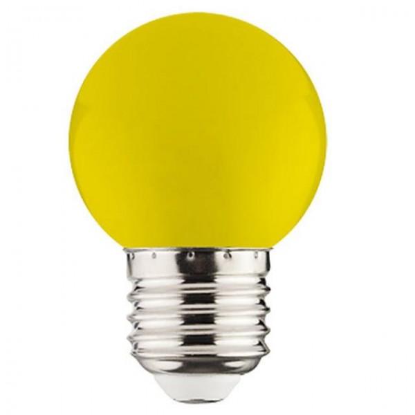 1W LED-Leuchtmittel Tropfen E27 geld 105lm P40