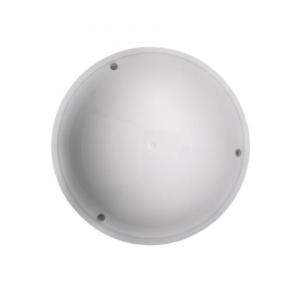 Sensor-Außenleuchte Vollmond OPAL mit Infrarot-Minisensor weiß 12W