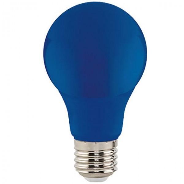 3W LED-Leuchtmittel Glühlampenform E27 blau 38lm A60
