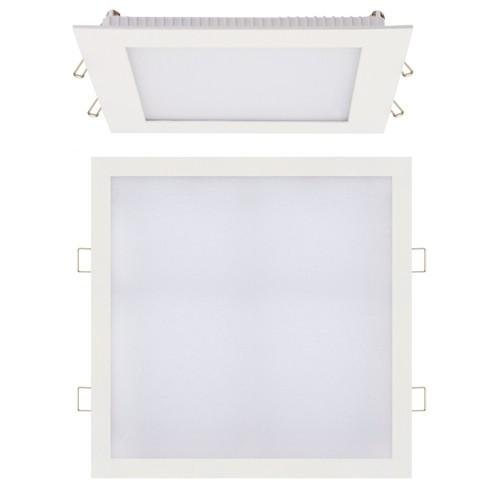 LED Panel Ultraslim weiss eckig 24W