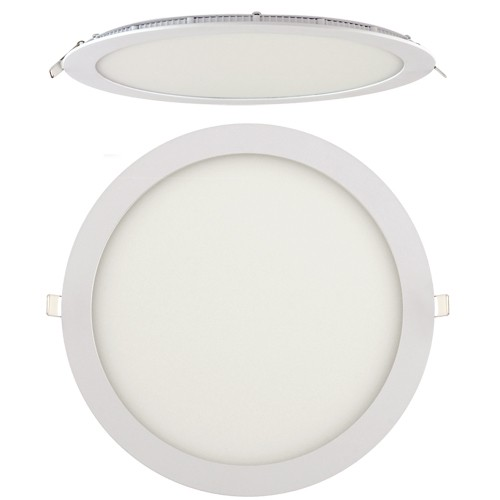 LED Panel Ultraslim weiss rund 24W