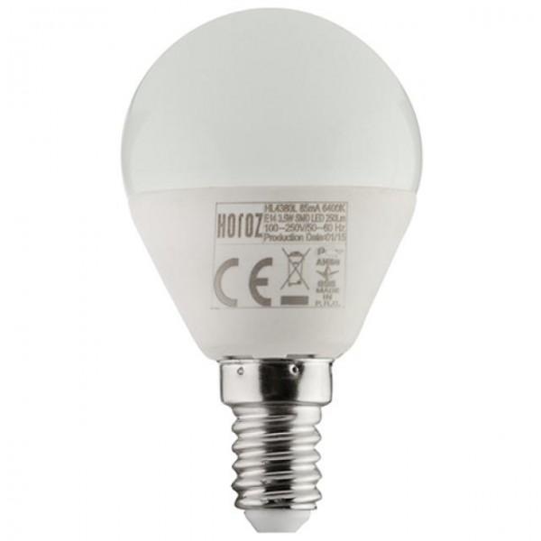 6W LED-Leuchtmittel Tropfen E14 kaltweiss 6400K P40