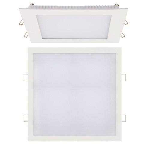 LED Panel Ultraslim weiss eckig 18W