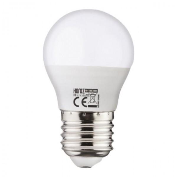 6W LED-Leuchtmittel Tropfen E27 neutralweiss 4200K P40