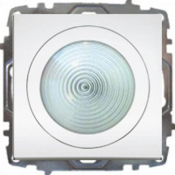 LED LICHT, ORIENTIERUNGSLICHT( EINSATZ+ DECKEL ) ZENA WEISS